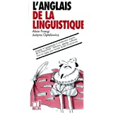 L'anglais de la linguistique