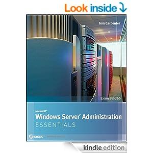 microsoft windows server administration essentials tom carpenter pdf download