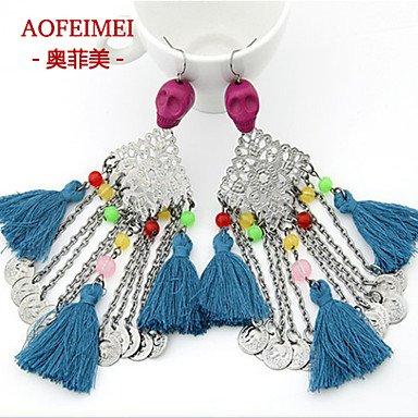 Damen Ohrring Legierung Stud Earrings-Color günstig kaufen