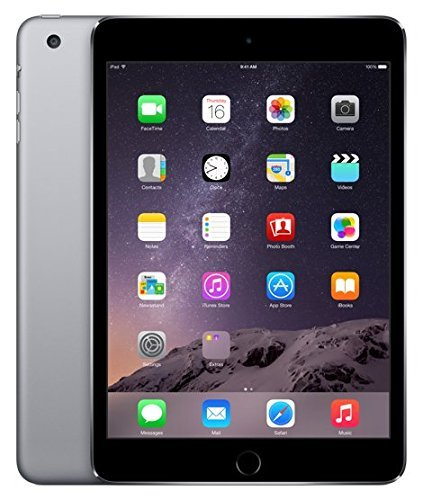 iPad mini 3 Wi-Fi 16GB - Space Gray - Model MGNR2