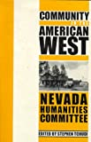 Community in the American West (Halcyon Imprint)