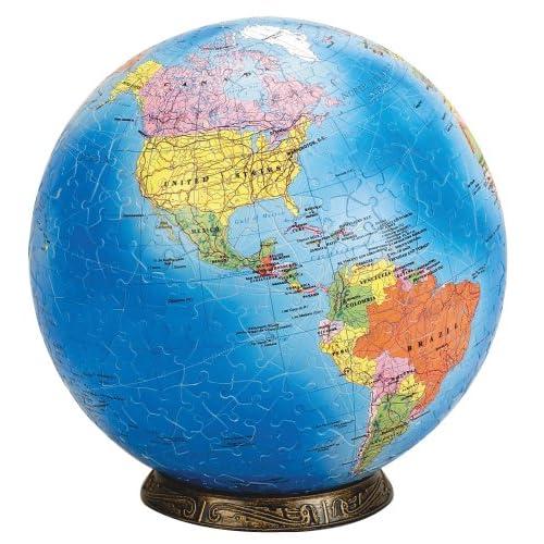 "Amazon.com: Esphera 360 9"" 540 Pieces World Globe: Political Map by"