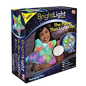 Bright Light Twinkling Star Pillow As Seen On TV by Bright Light