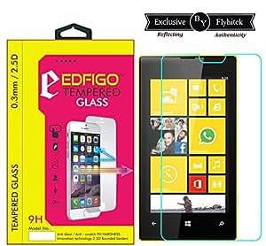 Edfigo 2.5D Curved Edges 0.33mm Premium Quality Tempered Glass For Micromax Lumia 520