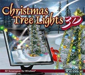 Christmas Tree Lights 3D Screensaver