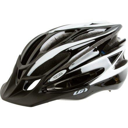 Louis Garneau Robota II Helmet Black/White, L