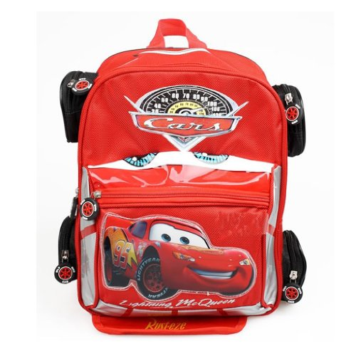 Tobey Cars Kids Backpack School Bag Children Boy s Xmas Gift Two Size L S