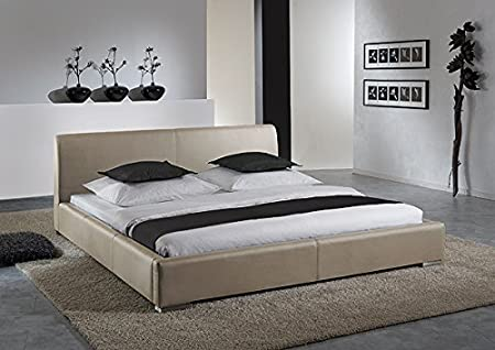 Polsterbett Einzelbett Bett 3531010000 muddy Kunstleder 100x200cm