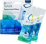 KOR Nava Water Bottle Replacement Filters, 2-Pack