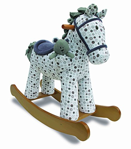 Little Bird Told Me LB3031 Dylan & Boo Rocking Horse Ride On - 1