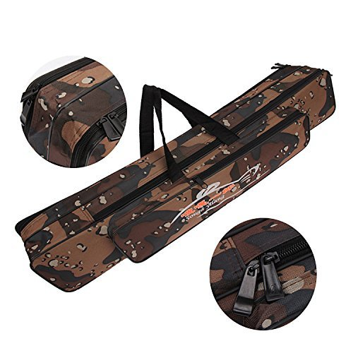 Portable Waterproof Double-Layer Camo Fishing