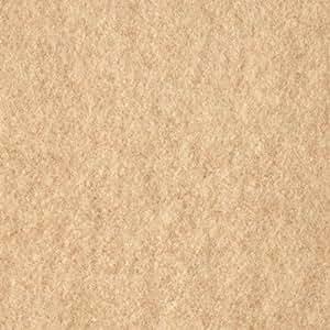 58'' Wide Wool Melton Beige Fabric By The Yard