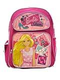 Full Size Pink Barbie Glam Backpack - Barbie Kids Backpack