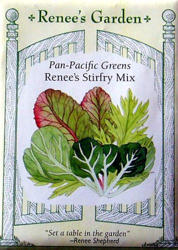 Stirfry Pan-Pacific Greens Renee's Seeds - Buy Stirfry Pan-Pacific Greens Renee's Seeds - Purchase Stirfry Pan-Pacific Greens Renee's Seeds (No Thyme Productions, Home & Garden,Categories,Patio Lawn & Garden,Plants & Planting,Seeds,Seed Starter Kits)