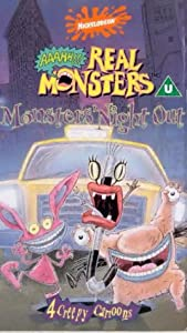 Aaahh Real Monsters Monster S Night Out Vhs Charles