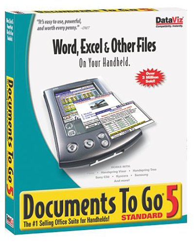 Documents to Go Standard V5.0 DVD Packaging