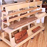 Woodworking Project Paper Plan to Build Lumber & Sheet Goods Storage Rack