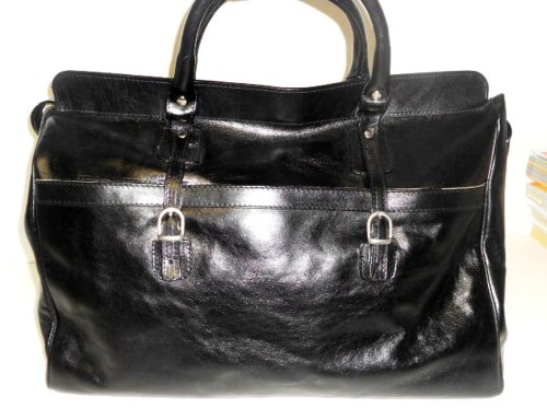 718caea064 What Is The Price For Peroni Leather Travel Bag Black One Size ...