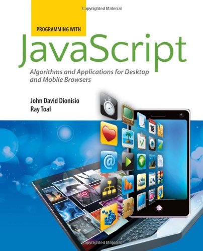 Programming With Javascript 076378060X pdf