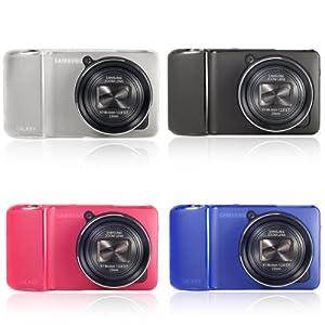 Lot de 4 coques de protection en gel TPU blanc pour appareil photo Samsung Galaxy EK-GC100 Neuf LF198