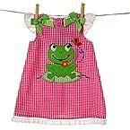 Frog Gingham Dress