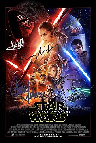 STAR-WARS-THE-FORCE-AWAKENS-Autographed-A-LOT-8x-REPRINT-8x10-inch-Photo-RP-02