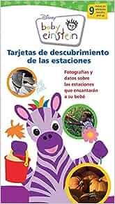 Baby Einstein Tarjetas de Descubrimiento De las Estaciones / Baby