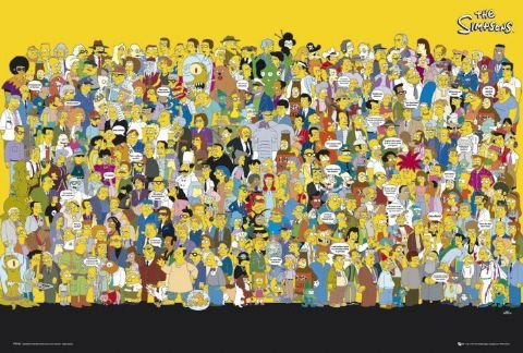The Simpsons-Personaggi-61x 91,5cm Poster/Poster
