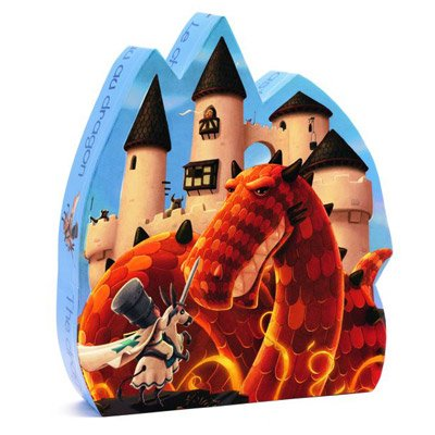 Cheap Fun Djeco Puzzle Dragon Castle Boxed Silhouette (B003WZ28B4)