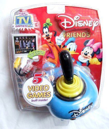 Tv Games Plug Into : Disney friends tv plug play game electronics games