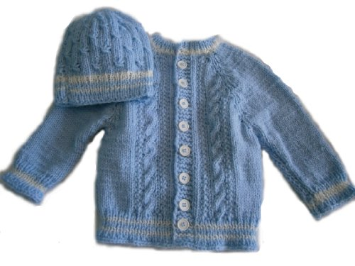 Hand Knitted Baby Hats front-556019