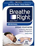 Breathe Right Nasal Strips, Small/Medium, Tan, 30-Count Boxes (Pack of 2)