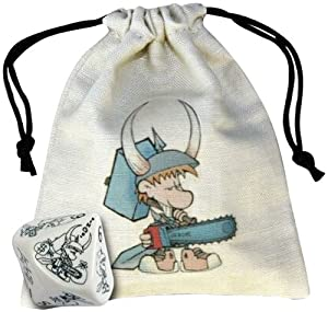 Q-Workshop Wicked Munchkin Bag & Die (Wicked Dice & Bag)