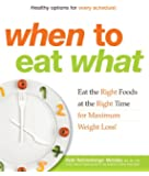When to Eat What: Eat the Right Foods at the Right Time for Maximum Weight Loss!