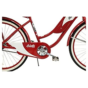 "Columbia Women's 1952 Vintage 26"" Cruiser Bike - Red"