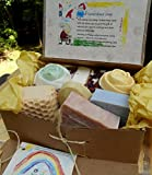 12 Gift Set Mom and Baby Variety Artisan Soaps - Include one Aged Large Bar ...Natural Handcrafted Soap