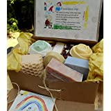 12 Gift Set Mom and Baby Variety Artisan Soaps - Include one Aged Large Bar ... (Health and Beauty)By Natural Handcrafted Soap LLC        Buy new: $106.99