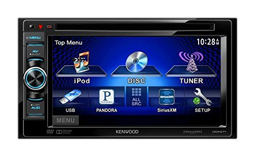 "Kenwood DDX271 In Dash 6.1"" Double DIN LCD Touchscreen DVD/MP3/CD Headunit Receiver"