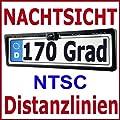 Nummernschild Rckfahrkamera 170 Grad Mit Nachtfunktion Fr Navi Ntsc von Smart Techno Gmbh