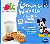 Annabel Karmel Disney In-Betweenie Biscuits - Cereals & Milk Flavour 12mth+ (12 per pack - 150g)