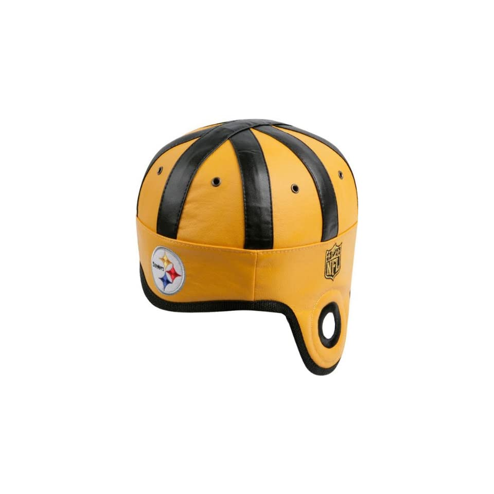 Pittsburgh Steelers Faux Leather Helmet Hat on PopScreen d1786ce28969