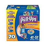 Pull-ups Learning Designs Training Pants, Boy, Size 4T-5T, 70 Count