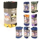 NFL Fleece Blanket Headquarters: Super Soft Fleece, Measures Approx. 50