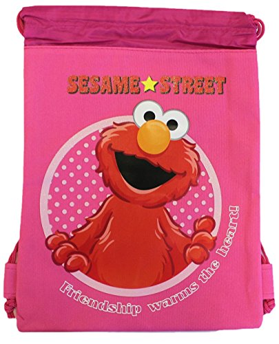 Sesame Street Elmo Drawstring Backpack - 1