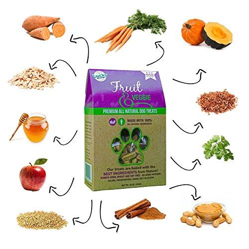 Lucky Dog Fruit & Veggie Treats  by Lucky Pet Brands, LLC - 1