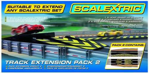 Scalextric C8511 1:32 Scale Track Extension Pack 2 - Leap Sport Building and Sport Track Accessory
