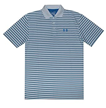 Under Armour Men UA Golf Performance Thin Stripes Polo T-Shirt by Under Armour