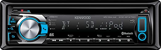 Kenwood Electronics KDC-BT47SD Autoradio CD/DVD Noir