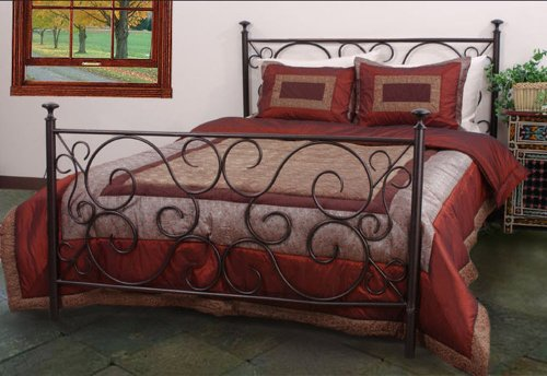 Vintage Metal Beds 3885 back