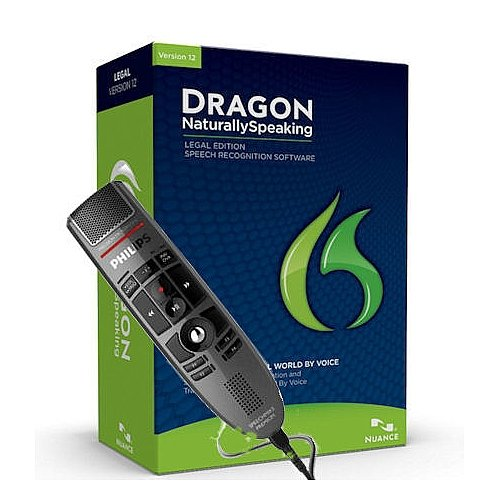 Nuance Dragon Naturallyspeaking Legal Speech Recognition Software Version 12 With Speechmike Premium Usb Precision Microphone - Push Button Operation